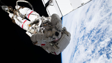 Repairing Space Station's Cosmic Particle Detector