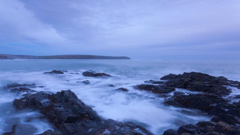 Stormy Sea on East Cork Coastline,Republic of Ireland