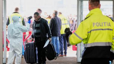 lucratori sezonieri in aeroport