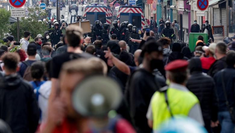 franta paris proteste 14 iulie covid vaccinare profimedia-0621493961