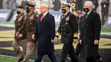 U.S. President Donald Trump Attends the 121st Army-Navy Football Game