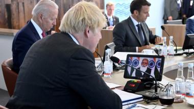 47th G7 Summit, Cornwall, UK - 12 Jun 2021