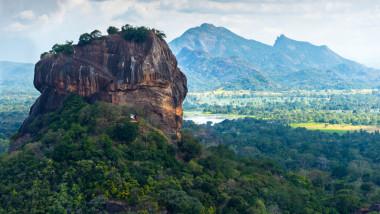 Peisaj muntos în Sri Lanka