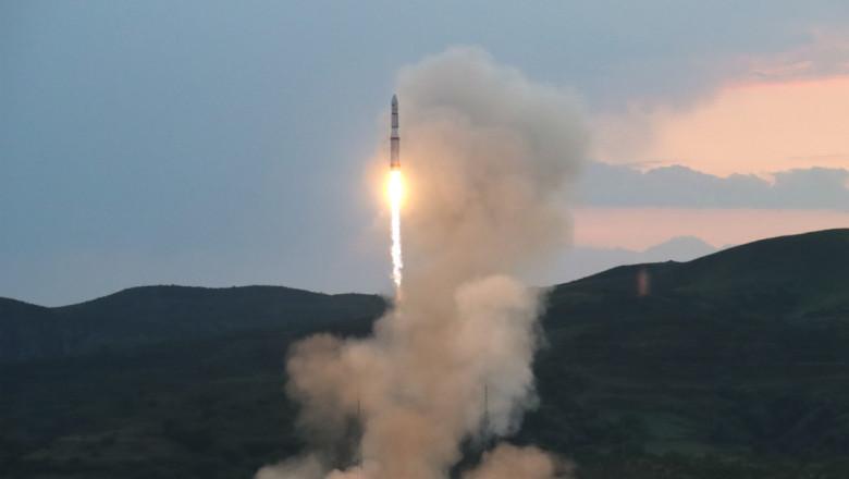 lansarea unei navete spatiale in china