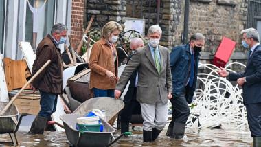 Flooding in Pepinster, Belgium - 16 Jul 2021