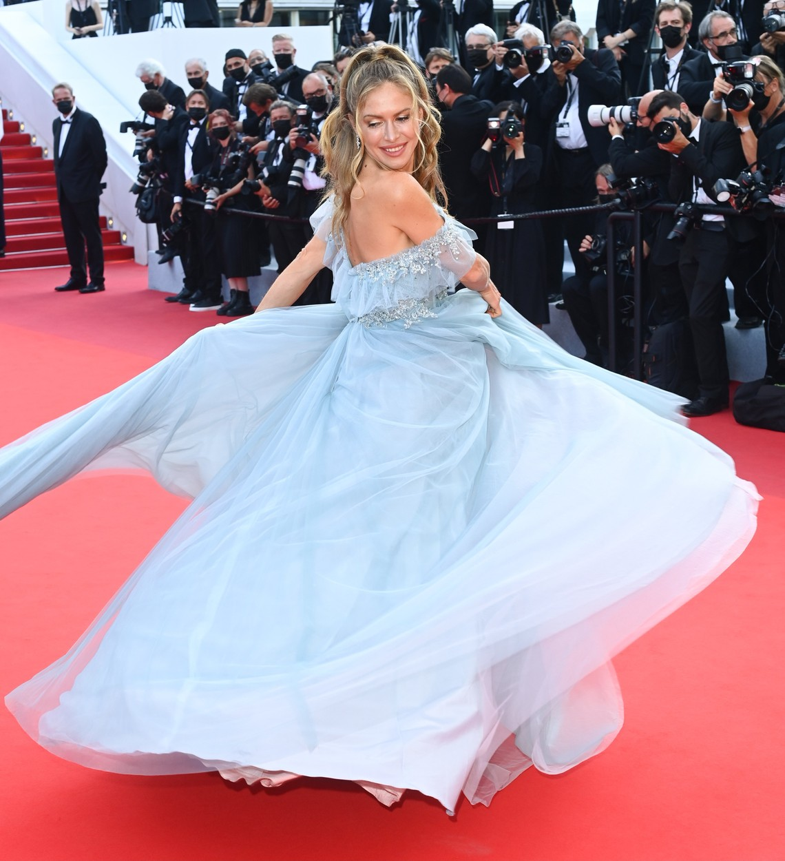 'OSS 117: From Africa with Love' premiere and Closing Ceremony, 74th Cannes Film Festival, France - 17 Jul 2021