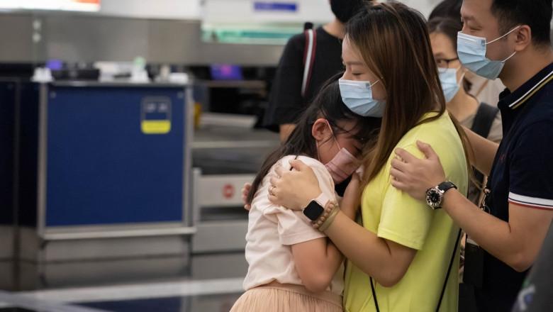 china restrictii nevaccinati