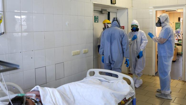 pacient covid spital rusia