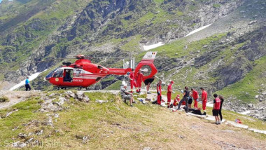 elicopter smurd foto salvamont sibiu