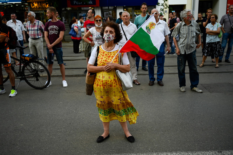 protest în bulgaria