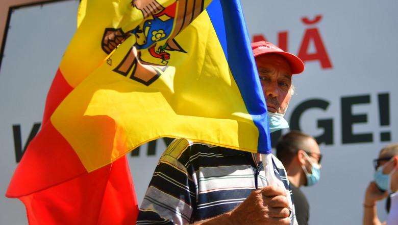 republica moldova alegeri steag profimedia