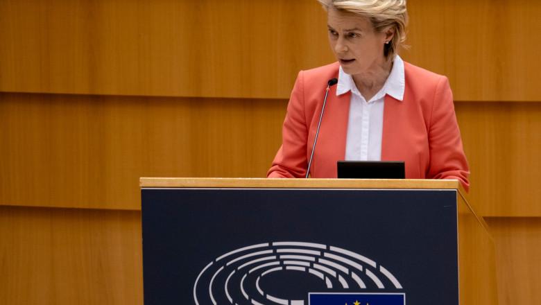 Speech by Ursula Von der Leyen to the European Parliament