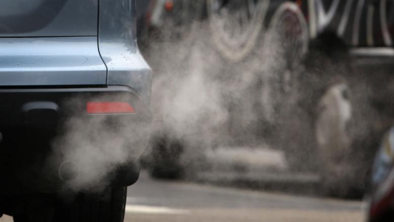 poluare masina gaze de esapament