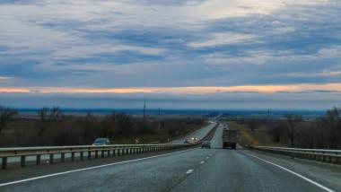 Imagine de pe autostradă.