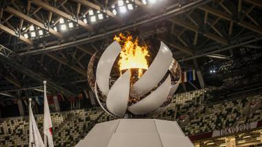 flacara olimpica de la tokyo