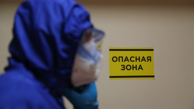 COVID-19 facility at Rostov-on-Don Regional Clinical Hospital