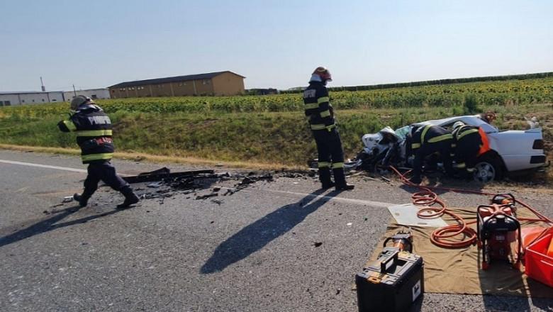 Accident grav în județul Bihor.