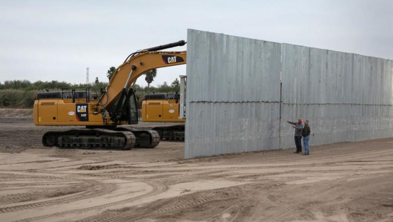 construcția zidului de la frontiera din Mexic și SUA