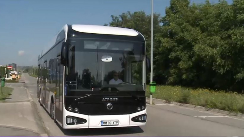 autobuz electric produs in romania