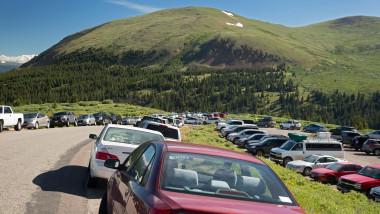 Mount Bierstadt hiking trail car park
