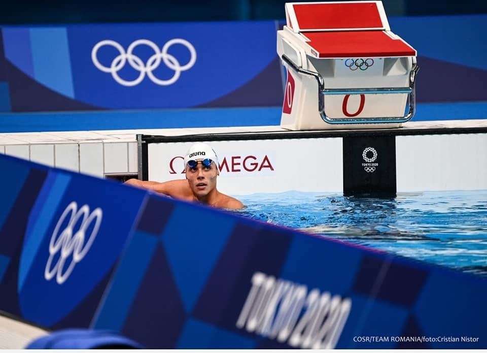 David Popovici, Tokyo 2020, finala 200 m liber