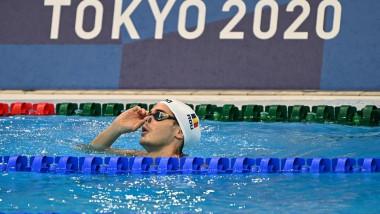 Robert Glință, Tokyo 2020, finala 100 m spate