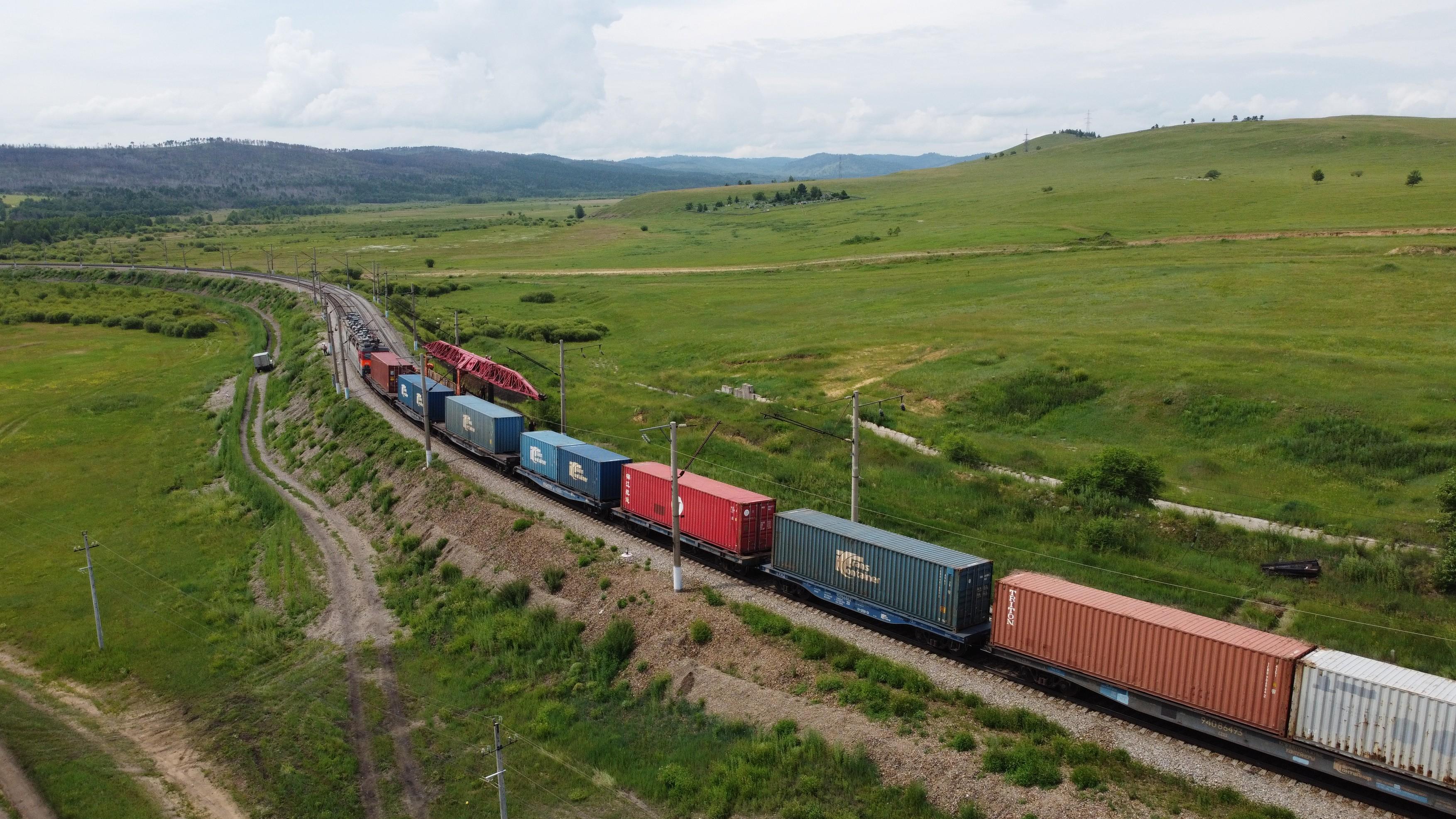 Russia Trans-Siberian Railway Renovation Work