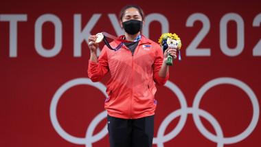 Hidilyn Diaz la Jocurile Olimpice de la Tokyo