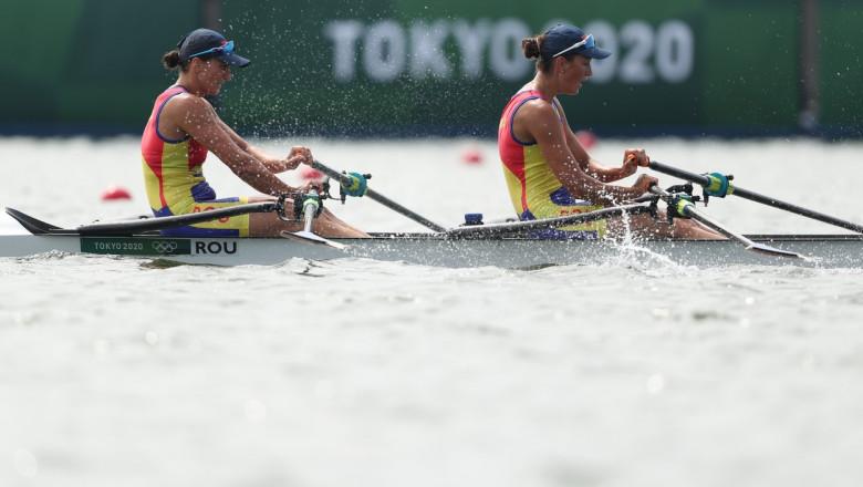 (TOKYO2020)JAPAN TOKYO OLY ROWING WOMEN'S DOUBLE SCULLS FINAL