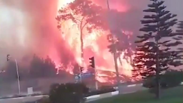 Incendiu în Turcia.