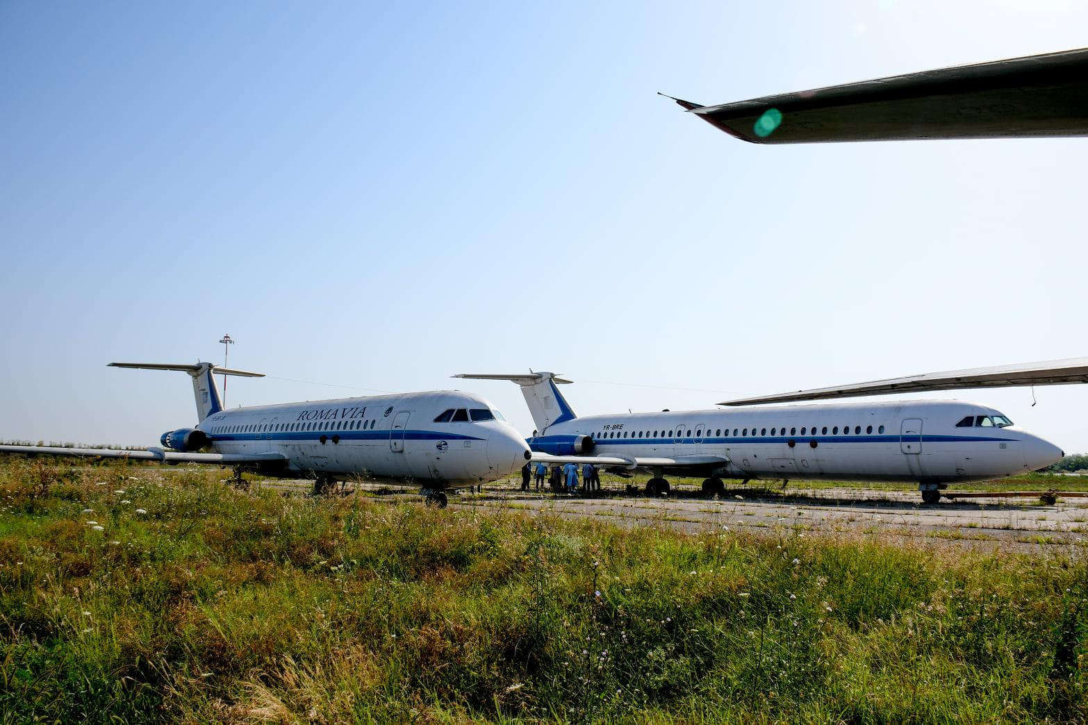 avioane ceausescu