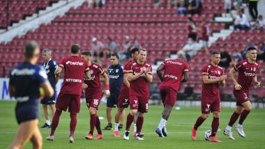 Jucători ai echipei Cfr Cluj.