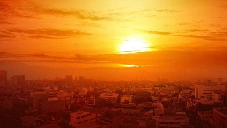 """România și sud-estul Europei vor fi """"arse"""" de un val de căldură extremă. Domul de căldură aduce temperaturi de 45 grade Celsius"""