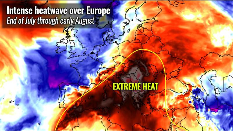 val de căldură