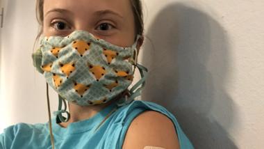greta thuberg vaccin