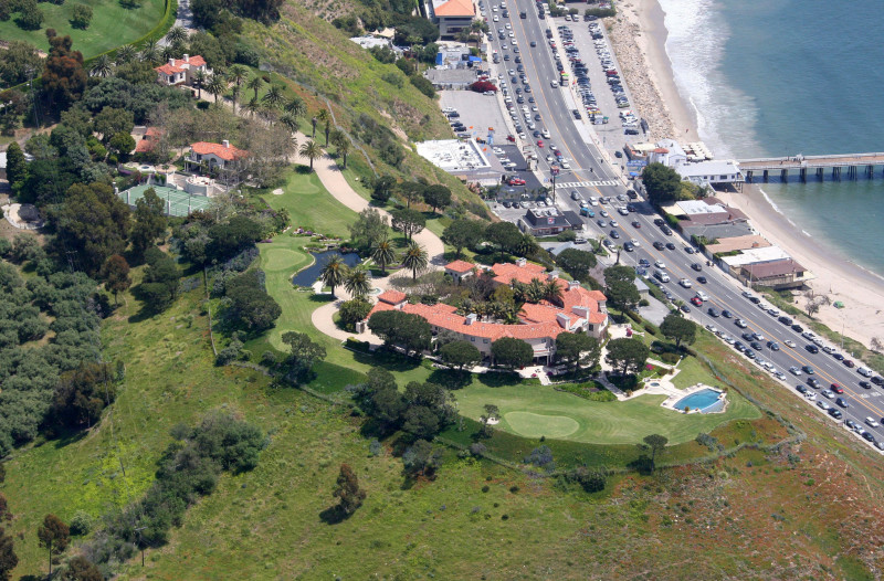 The Malibu estate owned by, Teodoro Nguema Obiang Mangue, the son of the Equatorial Guinea president