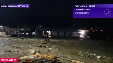 busteni inundat