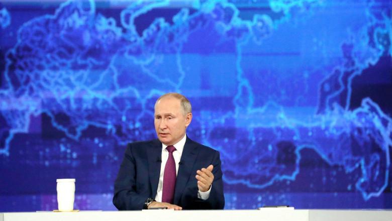 """Manifestul propagandistic al lui Putin: """"Rușii și ucrainenii sunt un singur popor"""". România """"a ocupat"""" Basarabia și Bucovina de Nord"""