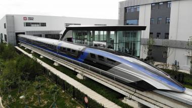 tren maglev prezentat in china