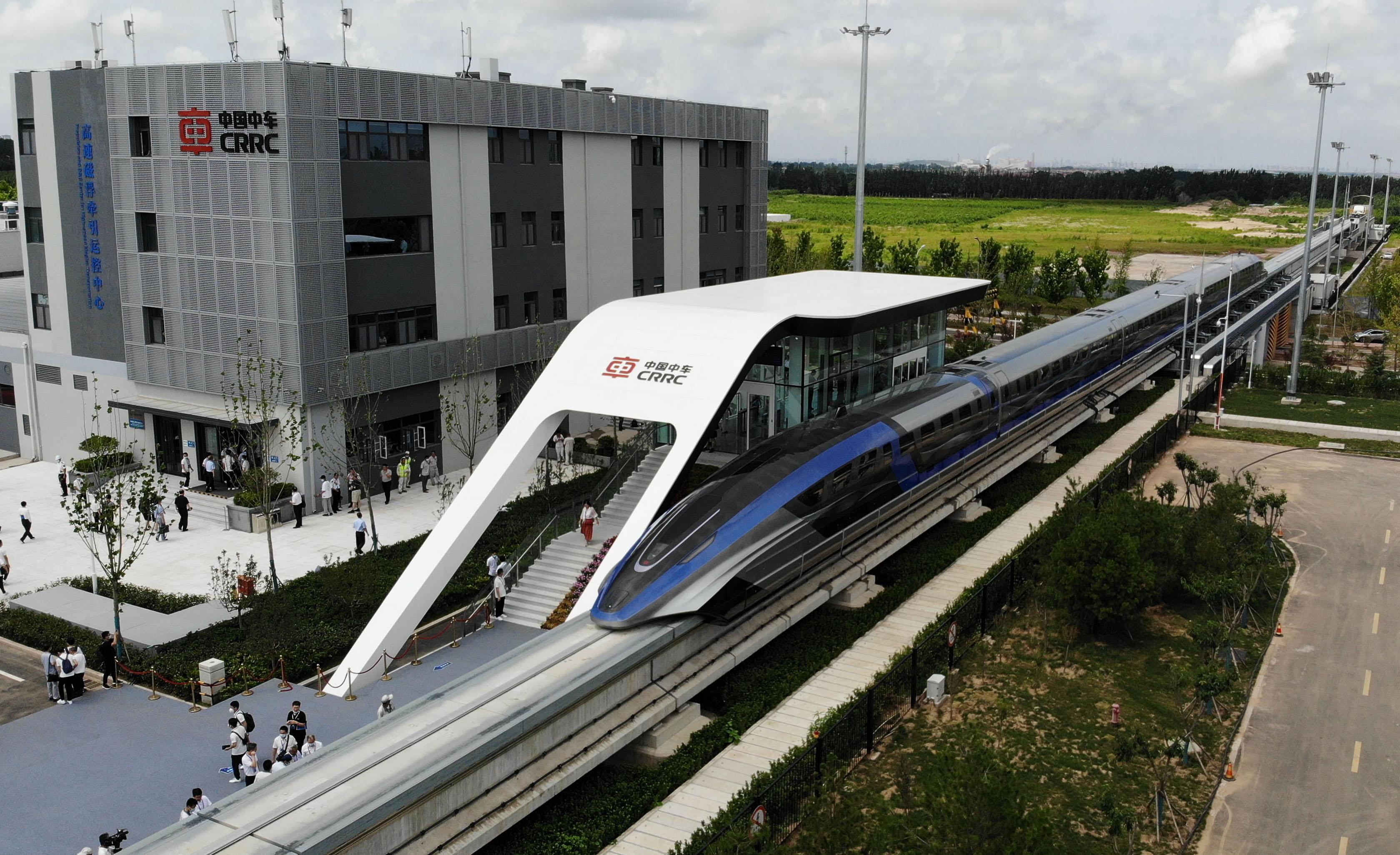 CHINA SHANDONG QINGDAO MAGLEV TRANSPORTATION SYSTEM PUBLIC DEBUT (CN)