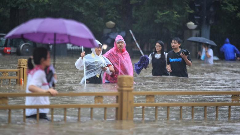 Inundațiile din Germania și China sunt doar începutul. Ce urmează și cum ar trebui să ne adaptăm