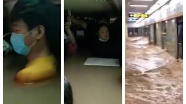 colaj inundatie metrou china