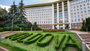 Parliament building, Republic of Moldova, Chisinau