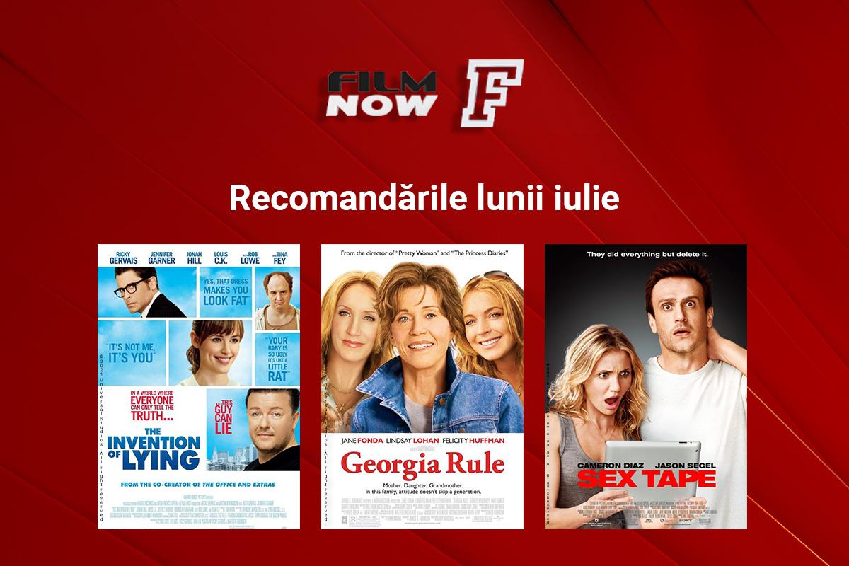 La final de iulie, Film Now propune comedii despre arta minciunii, adolescenti de cosmar si viata de cuplu