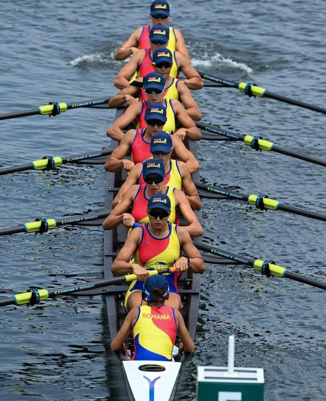 JO 2020. Romania, locul 6 in finala probei de 8+1 feminin la Tokyo