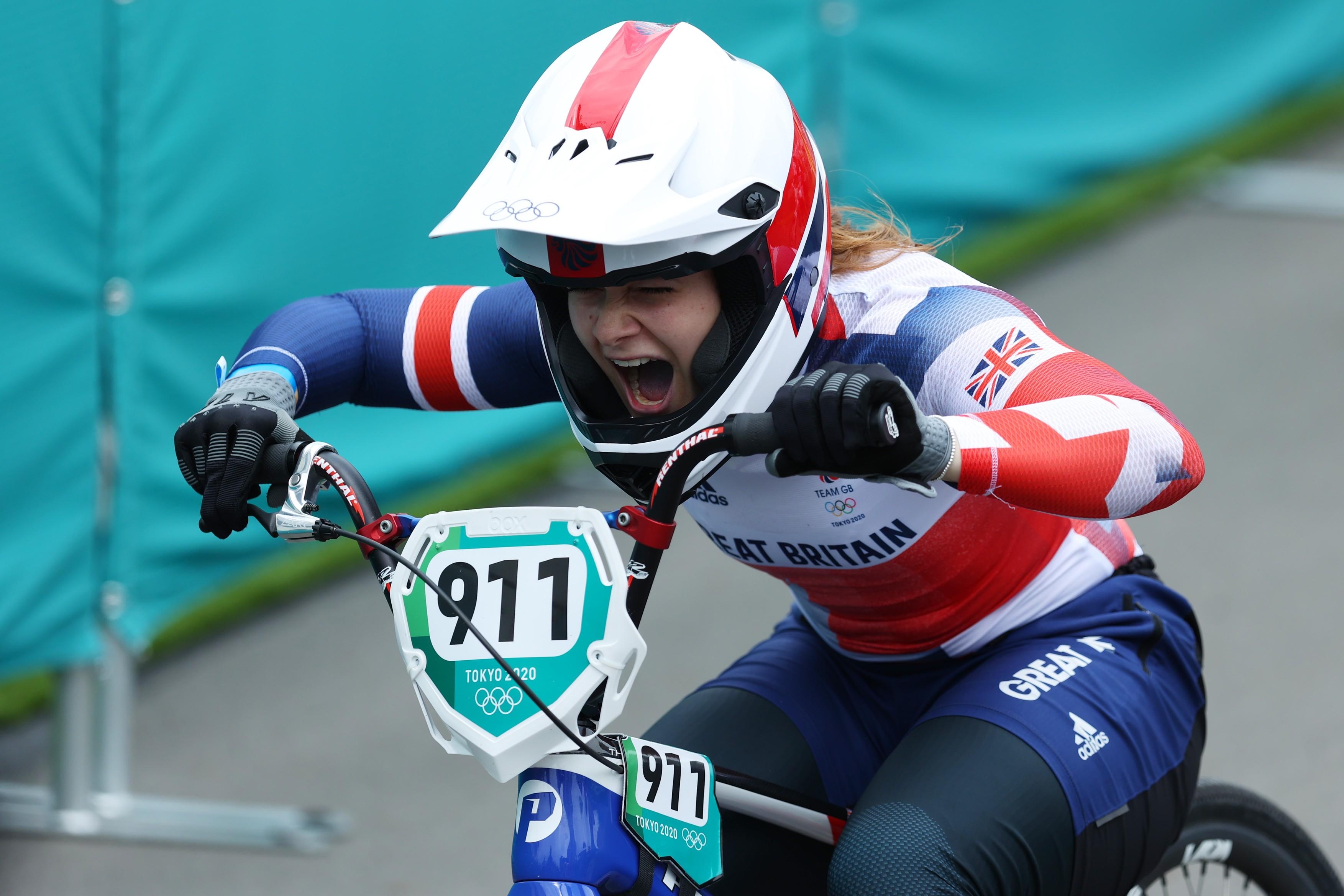 Campioana olimpica la BMX a ajuns la JO 2020 prin crowdfunding, dupa ce Marea Britanie a decis sa finanteze doar echipa masculina