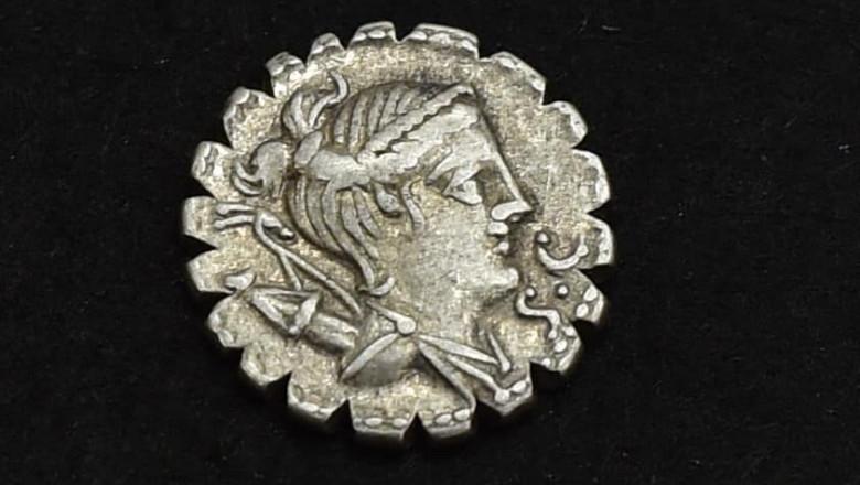 Monedă romană descoperită în Dolj.