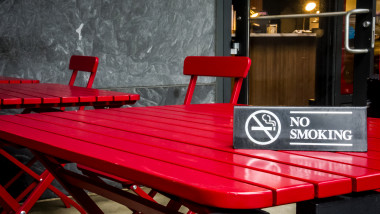 No smokin' sign