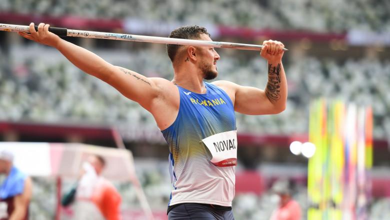 Alexandru Mihăiță Novac s-a calificat în finala probei olimpice de aruncarea suliței la JO 2020.