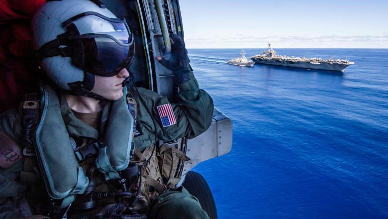 Grupul de luptă al portavionului USS Carl Vinson